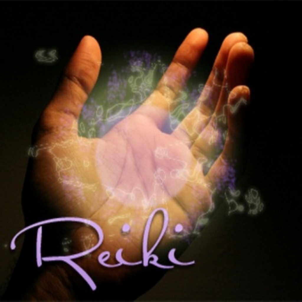 Reiki hand image